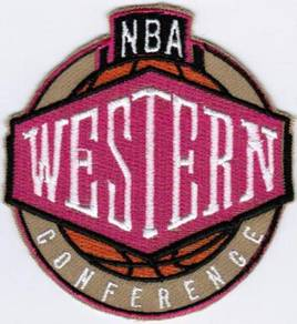 NBA Western Conference Emblem Basketball Patch