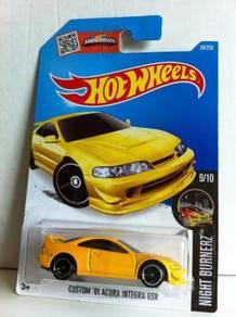 Hotwheels Custom '01 Acura Integra GSR #9 aka DC2