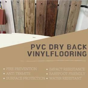 Dry back pvc vinyl flooring