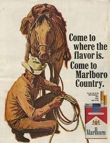Marlboro country poster