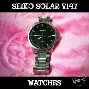 Seiko Solar V147 Watches