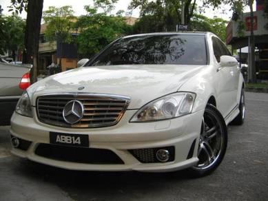 Mercedes W221 Amg bodykit