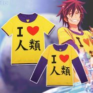 Anime No Game No life Zero T-shirt long sleeve sw