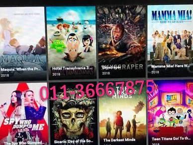 ALL fullSTRO U4k tv box Msia Android premier tvbox