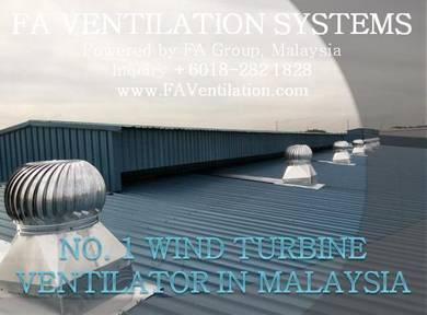 ZC21-R FA Wind Turbine Ventilator FREE FLOATING US