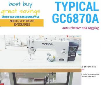 Mesin jahit direct drive typical gc6870a 021026310