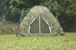 Automatic Tent Camouflage