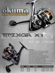 OKUMA EPIXOR 2000 ~ 5000 Fishing Reel Pancing