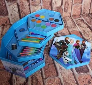 46 pcs Colouring Set Frozen Giftset