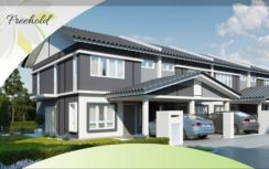 New landed Freehold double storey in Desa Sebarau, near to Selayang