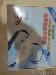 Portable waistband amplifier