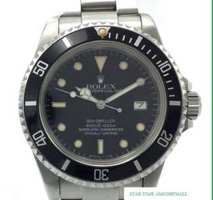 Rolex Sea Dweller 16660 Triple 6 - Star Time