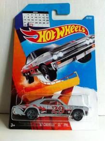 Hotwheels Leap Year '67 Chevelle SS 396 #92 Grey