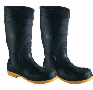 Safety Wellington Boots Proguard Black WP ST SMS