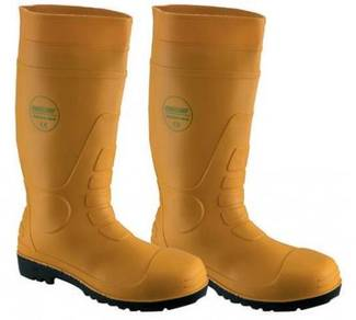 Safety Wellington Boots Proguard Yellow WP ST SMS