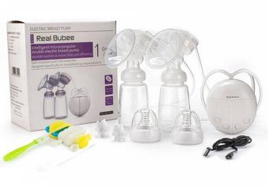 NEW Double Electric Breast Pump - Pam Susu BARU