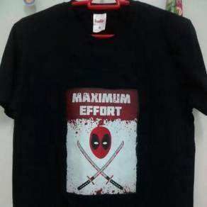 Deadpool maximum effort tshirt