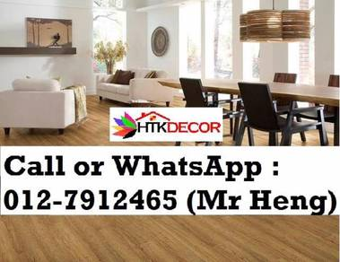 Natural Wood PVC Vinyl Floor - With Install 95IH
