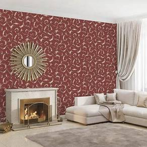 Design Decor Wall paper with Install.ry57