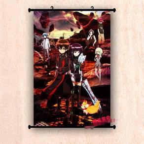 Twin star exorcists wall scroll