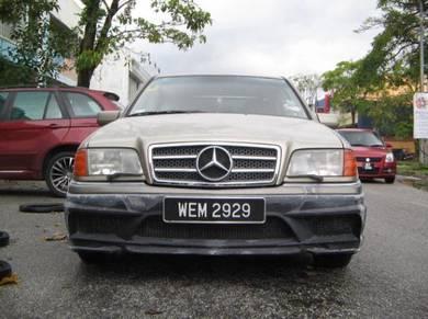 Mercedes W202 bodykit