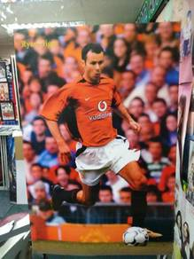 Poster RYAN GIGGS MANCHESTER UNITED