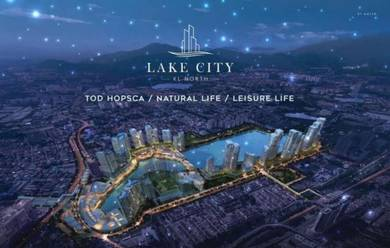 LakeCity KL North, HOSPCA Concept, LOW DOWN PAYMENT, Jalan Kuching