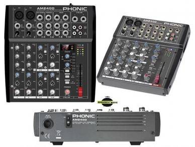 Phonic AM240D 10 channel Mixer with effect