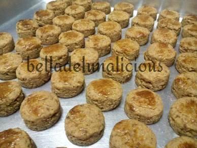 Biskut kacang mazola / biskut mazola
