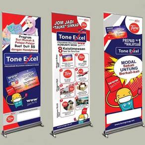 Roll Up Banner Banting
