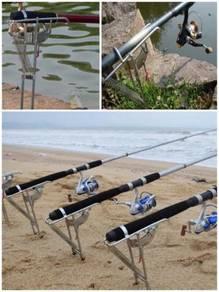 Automatic fishing pole holder 06