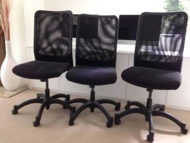 Ikea karsten study chair kerusi office chair