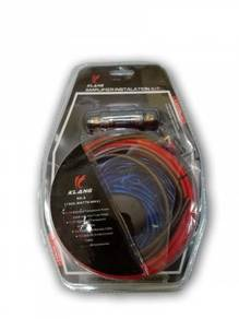 Wiring Fullset Untuk Pemasangan Power Amp - BARU