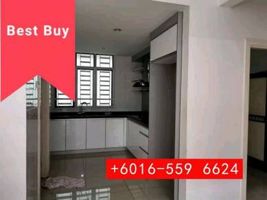 White Lily 2310 sqf , Renovated , Kitchen, Minden height , Penang