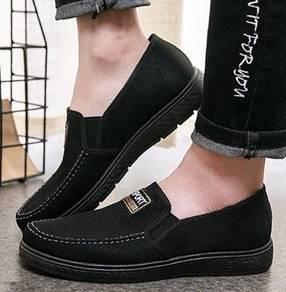 FA0261 Dark Blue Loafer Slip On Kasut Murah Shoes