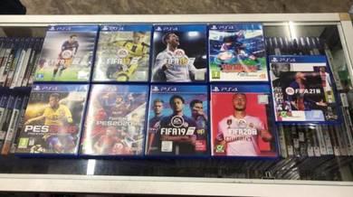 Ps4 games football and sports may