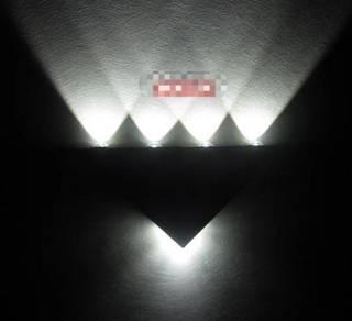 Led muti-color/single color wall light