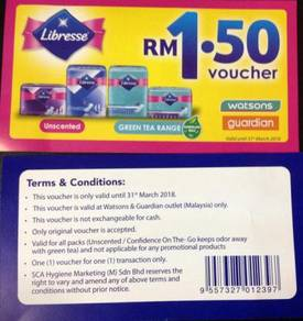 LIBRESSE RM1.50 voucher