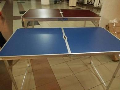 Meja 4x2 feet option kaki bulat atau kotak