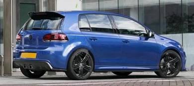 Volkswagen Golf 6R Exotic Carbon rear diffuser