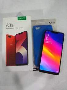 Oppo A3s Good condition Fullset untuk dijual
