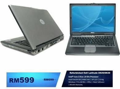 Refurbished Dell Latitude D620/D630