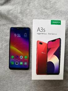 Oppo a3s purpel