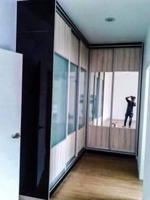 Kitchen/wardrobe/tv cabinet hg terus dari kilang 4