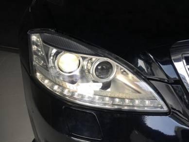 Mercedes benz W221 facelift head lamp