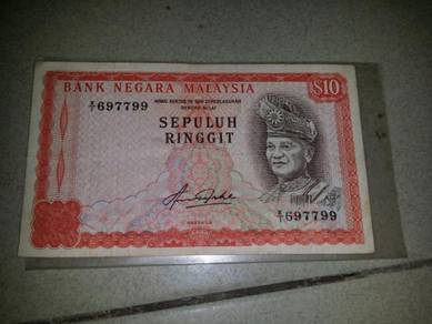 RM10 AZIZ TAHA X1 replacement notes