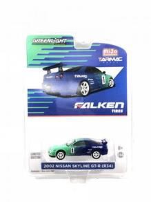 Tarmac Works X GL 1:64 Nissan GT-R R34 Falken