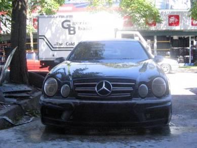 Mercedes W208 bodykit