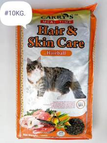 Carry's Cat Food Hair Skin Care Hairball 10kg