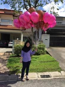 30 pcs helium belon FREE HANTAR